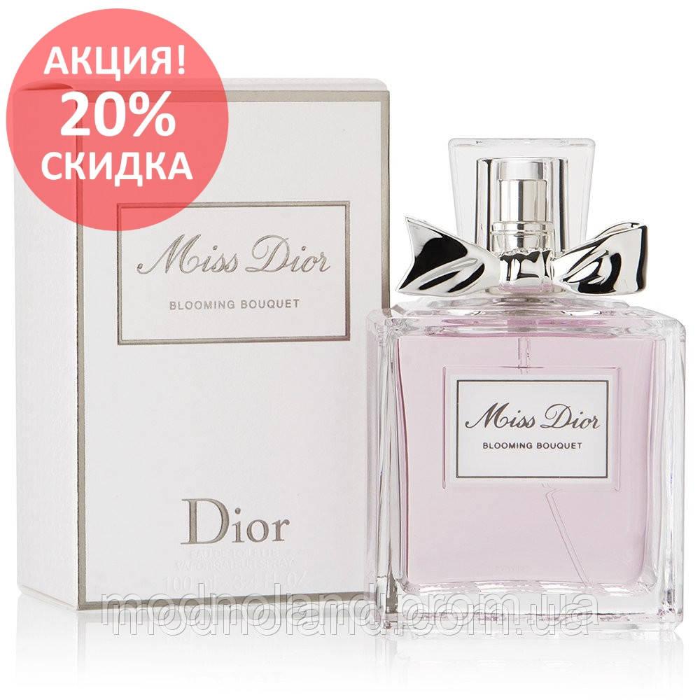 Женская туалетная вода Christian Dior Miss Dior Cherie Blooming Bouquet 100  ml (Чери Букет) 6c58f5a3b5bc7