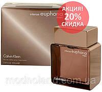 Мужская туалетная вода Calvin Klein Euphoria Men Intense 100 ml (Эйфория Мэн Интенс)