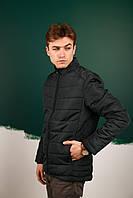 Мужская Весенняя куртка пуховик (Осень) Хаки