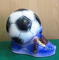 Копилка Мяч с ботинком - подарок мальчику, фото 1