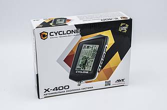 Автосигнализация с обратной связью Cyclone X-400 сигнализачия на авто Cyclone X-400