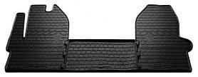 Резиновые коврики (3 шт, Stingray Premium) Iveco Daily 2014+ гг.