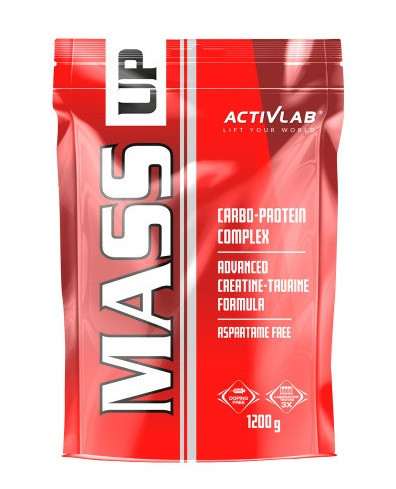 Гейнер ActivLab - Mass Up (1200 грамм) yoghurt-cherry/йогурт-вишня