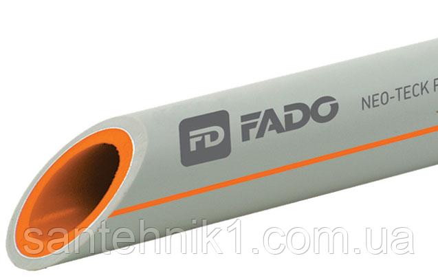 ПП Труба FADO PP-RCT армированная слоем алюминия (PPR-AL-PPR) PN-20 40х6,7 (1шт=4м), фото 2