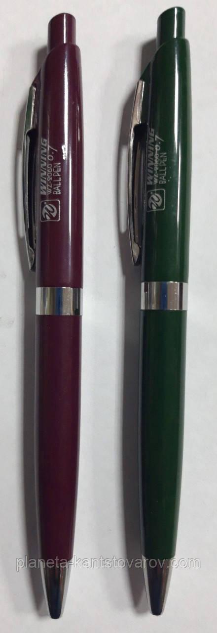 Ручка Winning шариковая автомат 2060 синяя 0,7мм