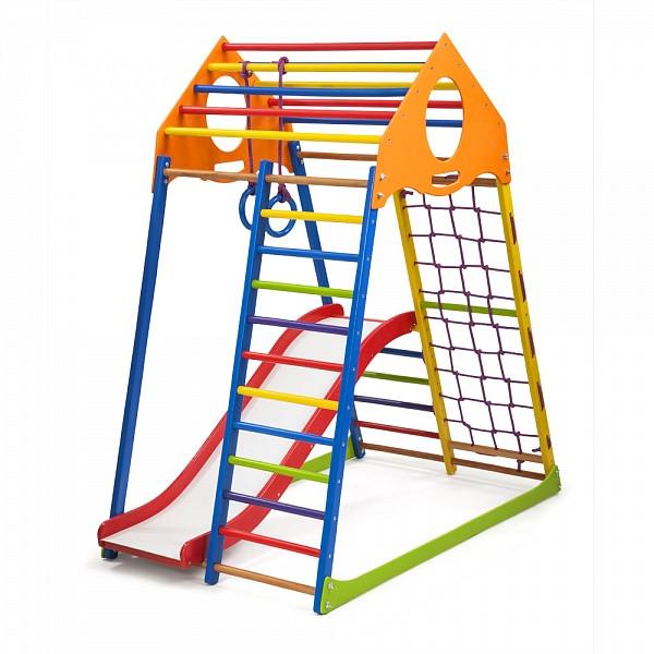 """Детский спортивный уголок """"KindWood Color Plus 1"""""""