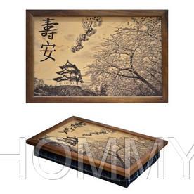 Поднос с подушкой Япония