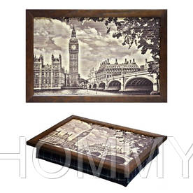 Поднос с подушкой Лондон