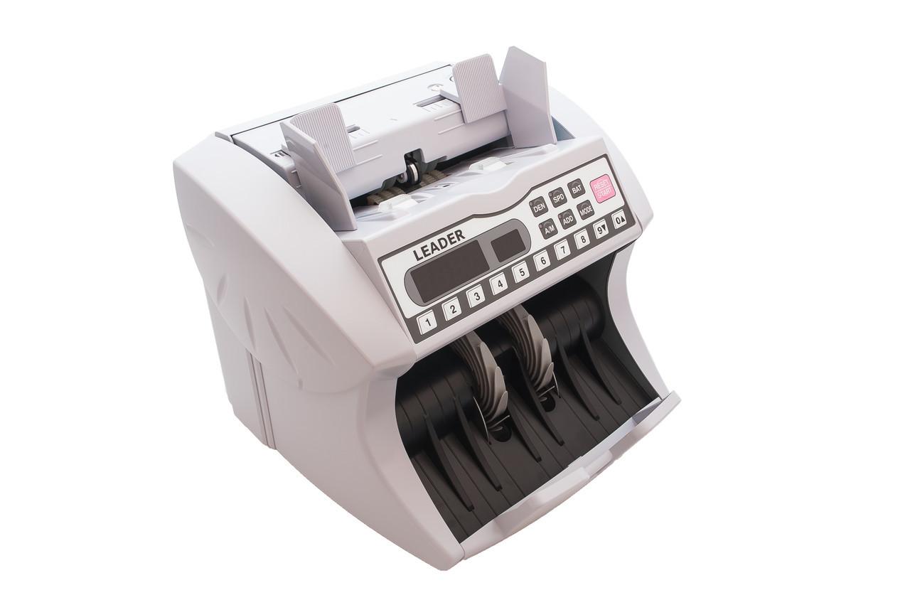 Счетчик банкнот банковского уровня Leader EB-300 UV