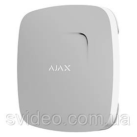 Беспроводный датчик дыма белый Ajax FireProtect White