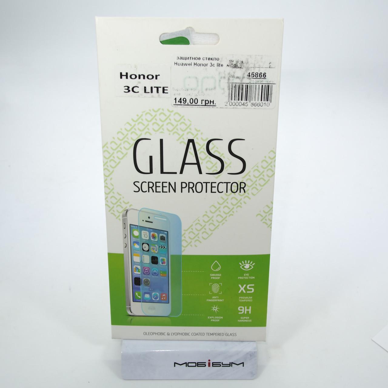 Защитное стекло Huawei Honor 3c lite