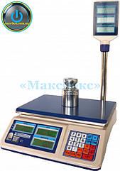 Весы торговые с поверкой на 15 кг ВТНЕ/1 15Т2К  (Дозавтоматы)