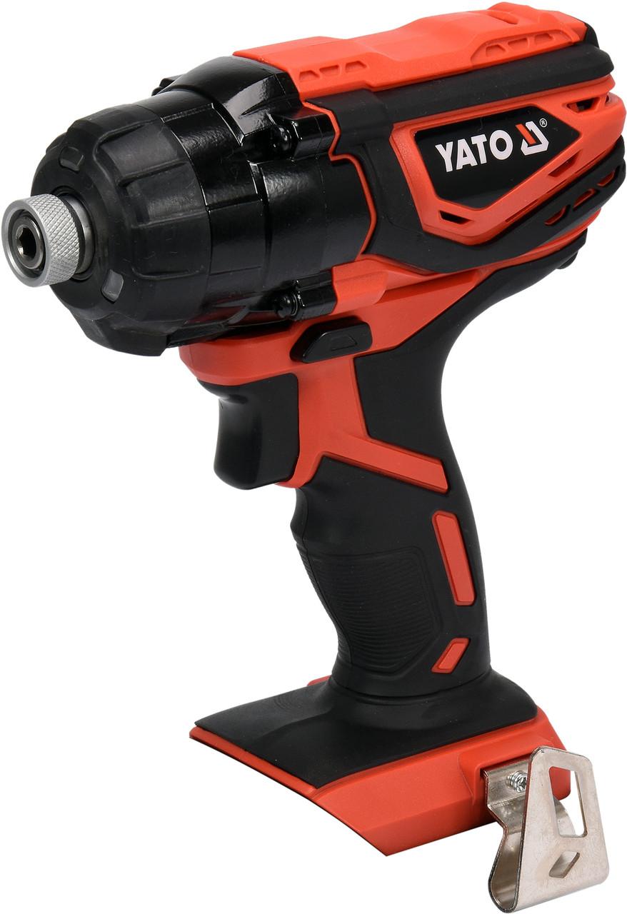 Шуруповерт акумуляторний ударний YATO YT-82801