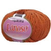 Lanoso Alpacana оранжевый № 3023