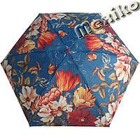 Зонт ZEST женский механика 5 сложений, цветной плоский. Расцветка №22