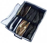 Органайзер для обуви на 6 пар (джинс), Органайзер для взуття на 6 пар (джинс), Органайзеры для вещей и обуви