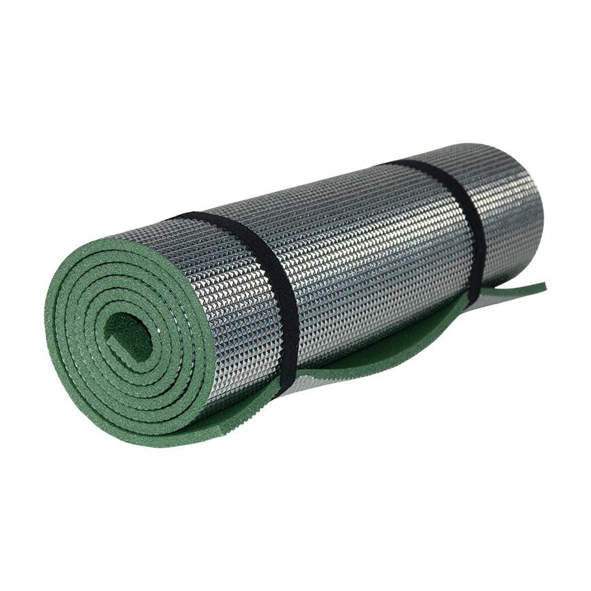 Коврик Polifoam (Полифом) с металлизированной пленкой, 7мм, зеленый