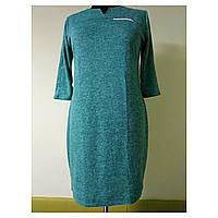 Платье женское большого размера осеннее для полных женщин 54 (56, 58, 60) батал №302