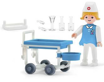 Игрушка IGRACEK Paramedic and accessories Медсестра с аксессуарами