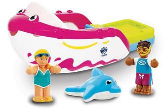 Игрушка WOW TOYS Susie Speedboat Гоночный катер Сьюзи (игрушки для купания)