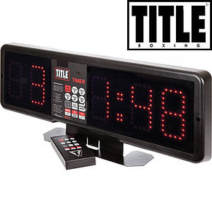 Професійний боксерський таймер TITLE Platinum Professional
