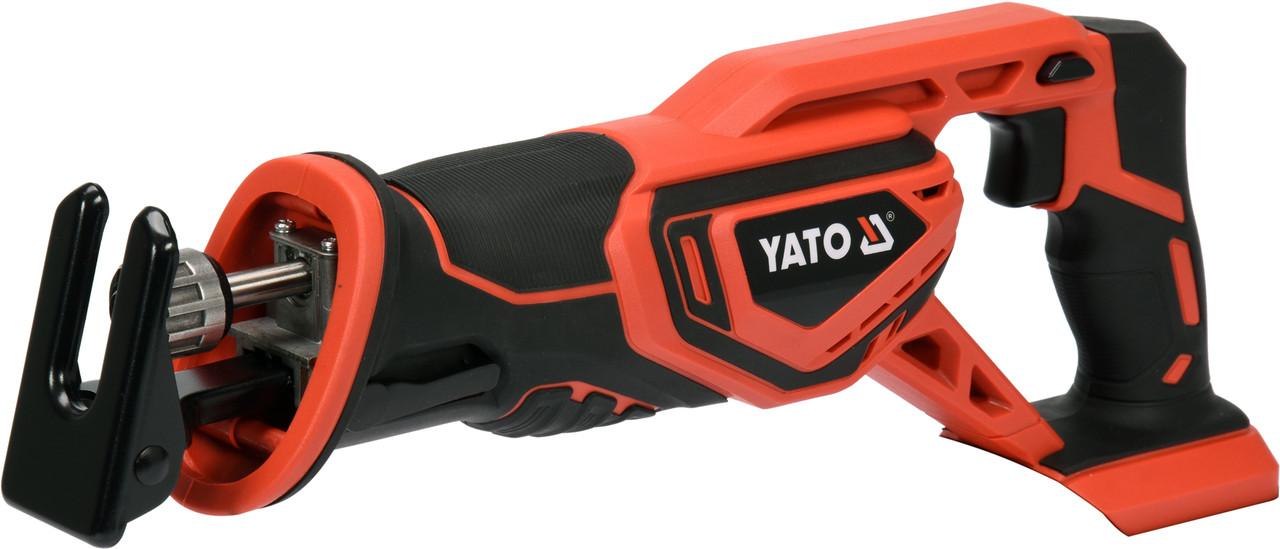 Акумуляторна шабельна пила YATO YT-82815
