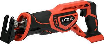 Акумуляторна шабельна пила YATO YT-82815, фото 2