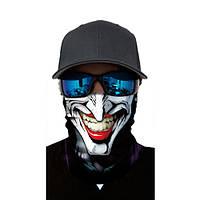 """Бафф-маска с рисунком черепа - """"Улыбка Джокера"""""""