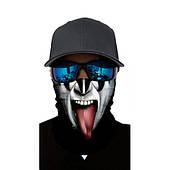 "Бафф-маска с рисунком черепа - ""KISS"""