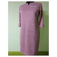 Платье женское большого размера осеннее для полных женщин 58 (54, 56, 60) батал №302