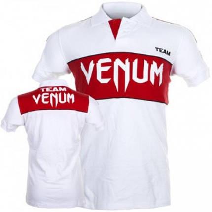 Футболка-поло VENUM Team Polo (Белая), фото 2