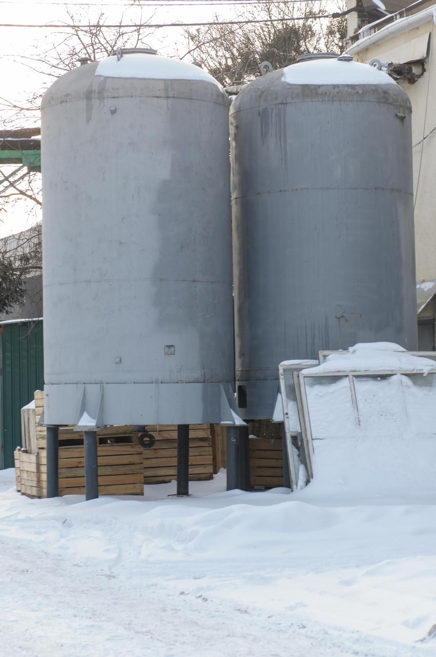 Емкость эмалированная  25 м куб