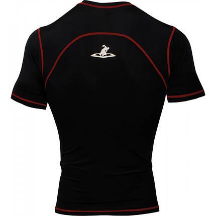 Компрессионная футболка TITLE MMA Quad-Flex Reaper ShortSleeve Rash Guard, фото 2