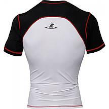 Компрессионная футболка TITLE MMA Quad-Flex Reaper ShortSleeve Rash Guard, фото 3