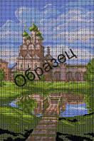 Схема для вышивки бисером «Монастырский дворик»