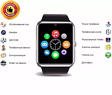 Смарт-годинник GT08 з камерою розумні телефон блютуз Smart Watch Bluetooth
