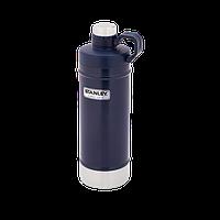 Термобутылка Stanley Classic 0.62 л темно-синяя, фото 1