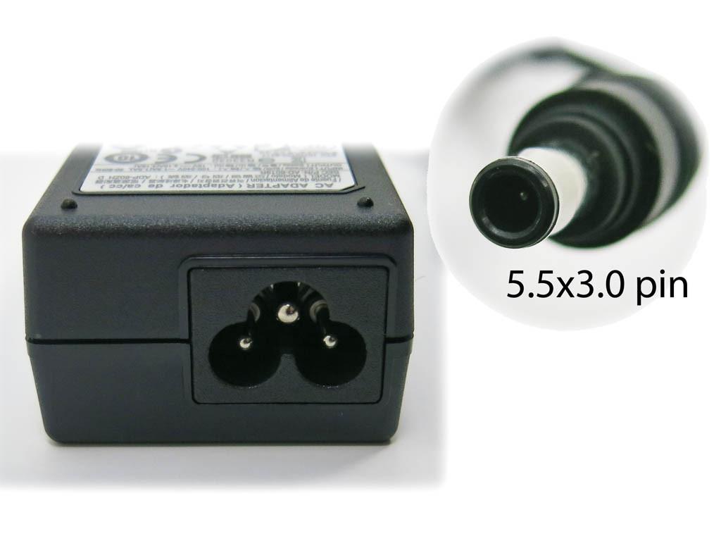 Блок питания Samsung 19V 3.16A 65W (5.5*3.0+Pin) ORIGINAL. (ADP-60ZH A AD-6019)