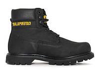 """Зимние ботинки CAT Caterpillar Colorado Boots """"Black"""" - """"Черные""""  (Копия ААА+)"""
