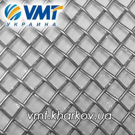 Сетка тканая нержавеющая 2,0х1,0 мм. 2-2,0-1,0