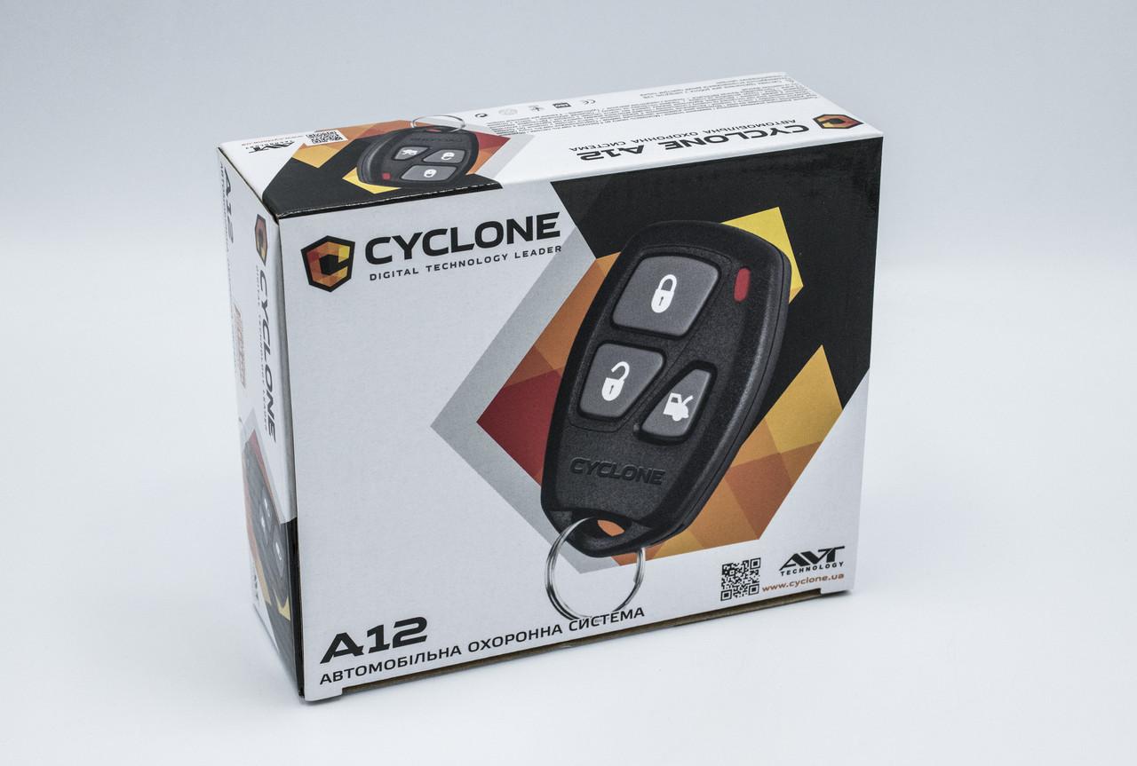 Автосигнализация без обратной связи CYCLONE A12 сигнализачия на авто Cyclone A112