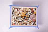 Поднос на подушке Море, Піднос на подушці Море, Подносы на подушке