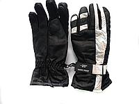 Перчатки горнолыжные женские SHENPEAK WHITE-23 В 023 (черно-белый)