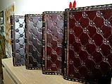 Оригинальный кожаный блокнот ежедневник ручная работа винтажный формат а5, фото 8
