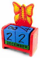 Вечный Календарь Цветущая Бабочка Red, Вічний Календар Квітуча Метелик Red, Вечные календари, вічні календарі