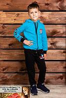 Спортивный костюм ATHLETIC двунитка начес байка  лет на 7, 8, 9 лет