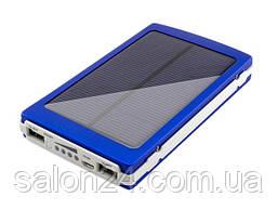 Solar Power Bank 10000 mAh +ЗАРЯДКА ОТ СОЛНЦА + 20led фонарик