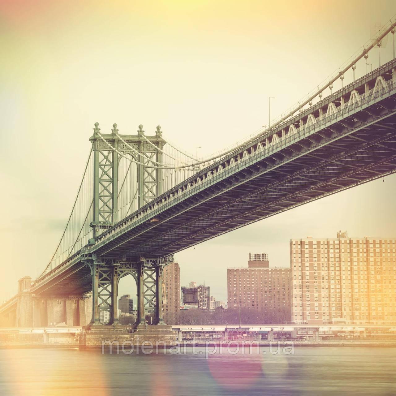 Принт для фотообоев Мост