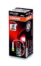 """Автомобильная галогенная лампа """"OSRAM"""" (H3)(SUPER)(12V)(55W)(+30%)"""
