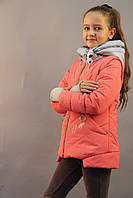 """Осенняя куртка-жилетка для девочки """"Габби"""", демисезонная курточка детская, НОВИНКА 2019"""